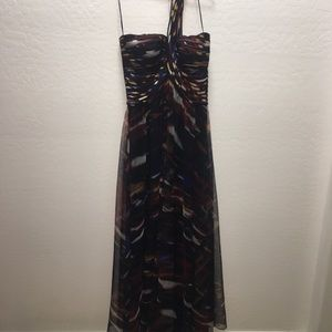 Multi Color Evening Gown